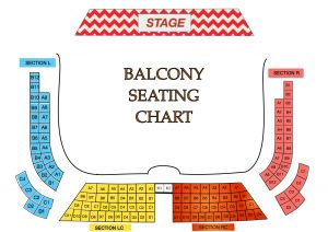 balcony level seats