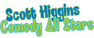 Scott Higgins Comedy All Stars - Logo
