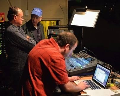 Jon Loux, Bob Sloat, Steve Marchessault(L to R).  Photo by Brad Barker